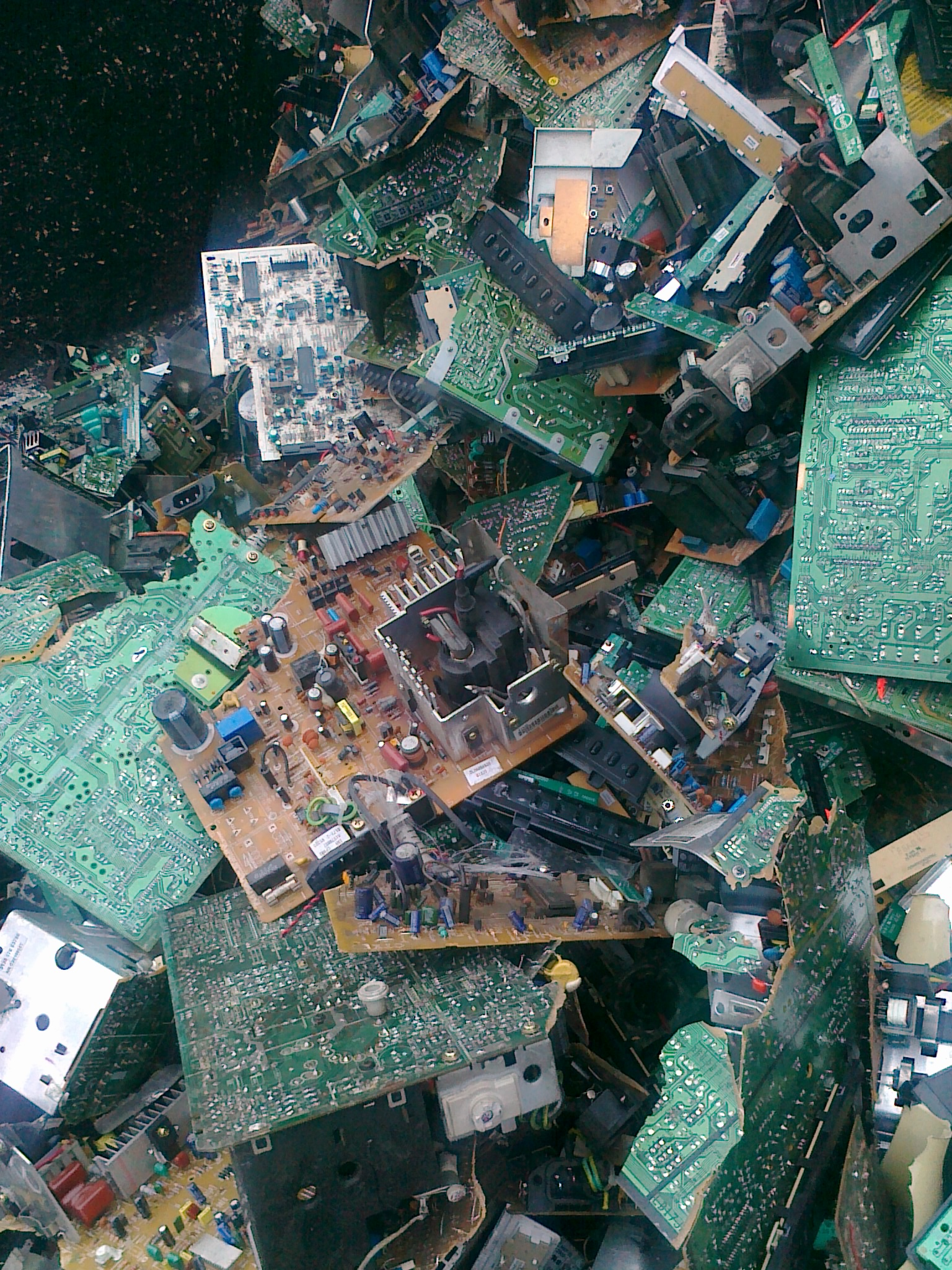Circuit Boards Scrap Baltic Recycling Uab Recycle Concept Of Electronic Junk